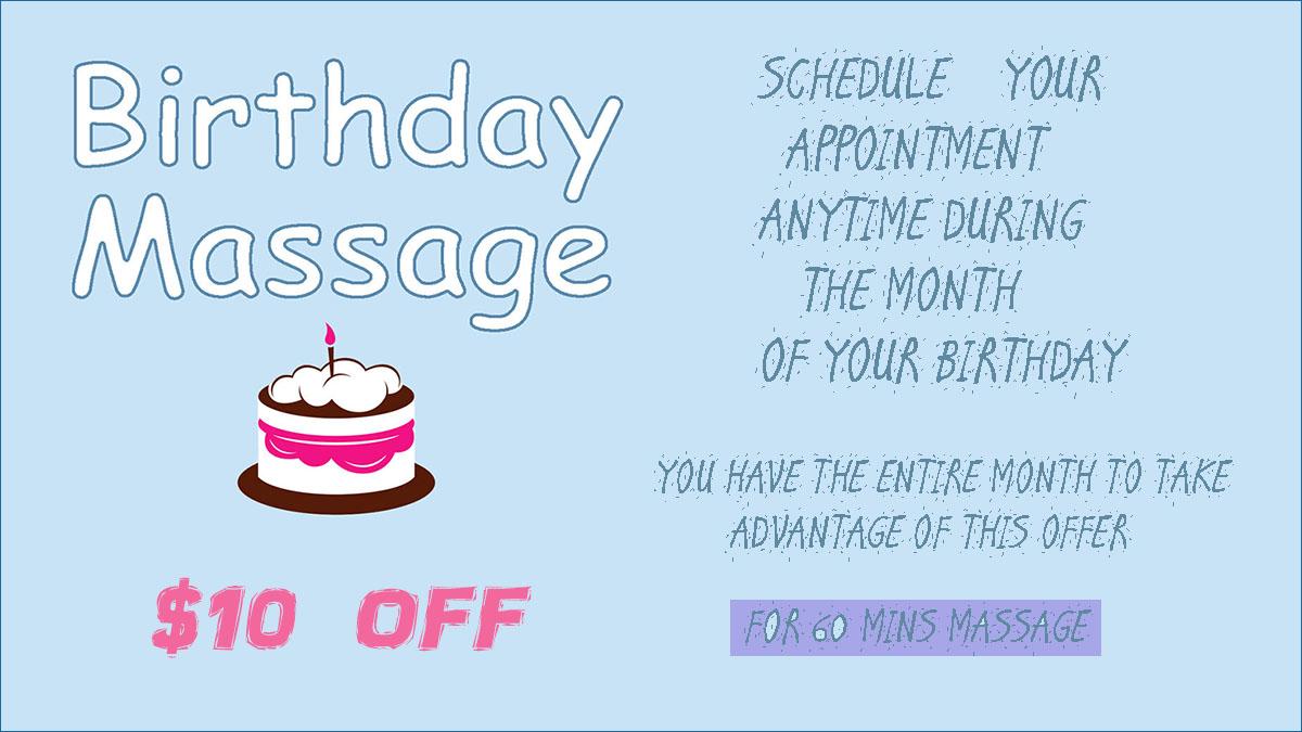 Birthday Massage